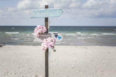 Strandhochzeit an der Ostsee