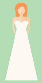 Brautkleid: Die klassische A-Linie