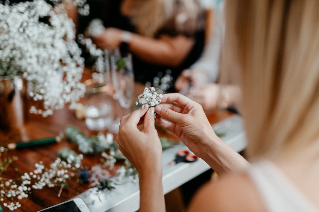 Flowercrown Workshop in Kiel