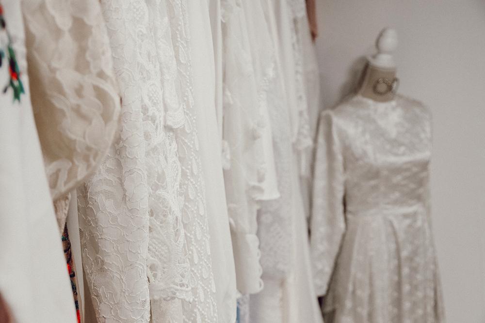 Vintage Brautmode